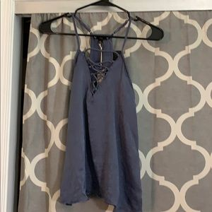 Tops - New with tags blue tank top